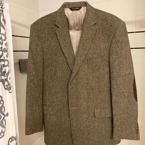 Men's tweed wool sport coat